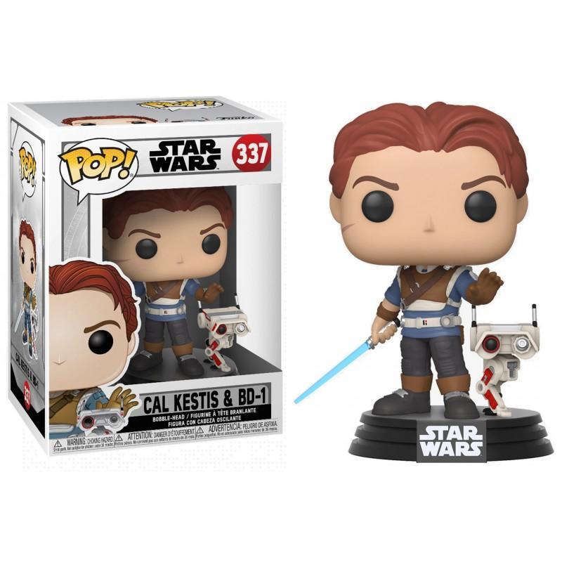 STAR WARS - Jedi Fallen Order - Bobble Head POP 337 - Cal Kestis &BD-1