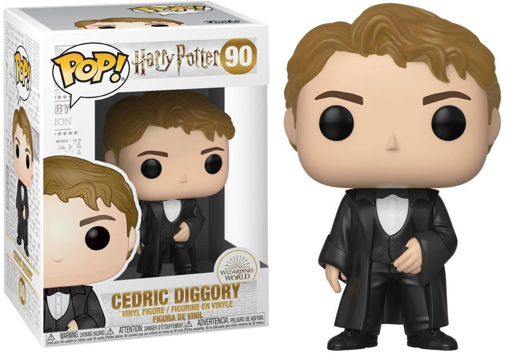 HARRY POTTER - Bobble Head POP N° 90 - S7 - Cedric Diggory 'Yule'