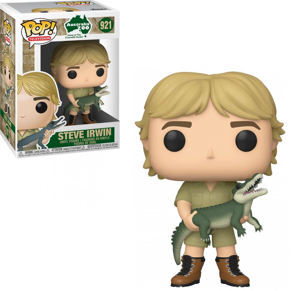 CROCODILE HUNTER - Bobble Head POP N° 921 - Steve Irwin