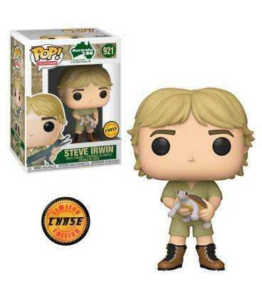 CROCODILE HUNTER - Bobble Head POP N° 921 - Steve Irwin CHASE EDITION