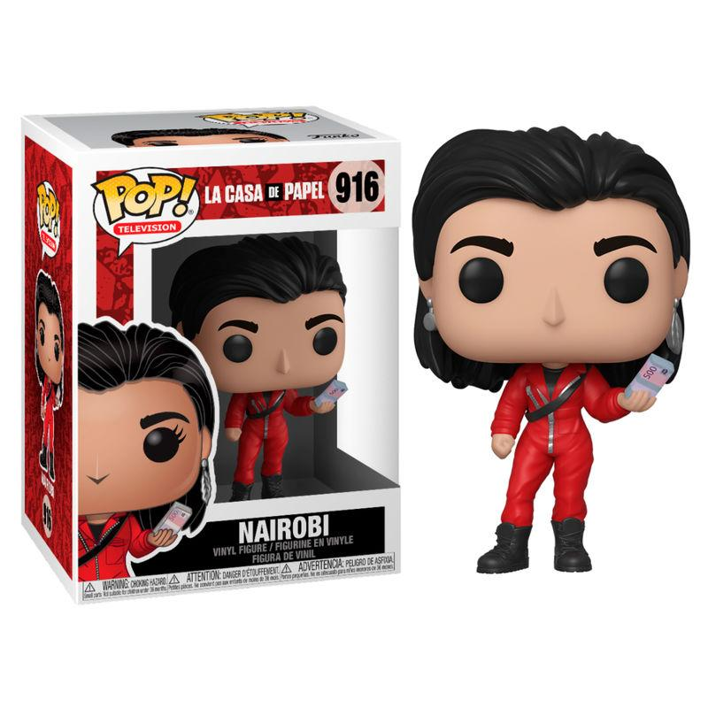 TV - Bobble Head POP N° xxx - La Casa de Papel - Nairobi
