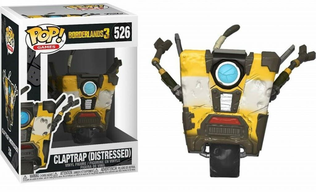 GAMES - Bobble Head POP N° 526 - Borderlands 3 - Claptrap_1