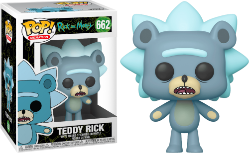 RICK & MORTY - Bobble Head POP N° 662 - Teddy Rick