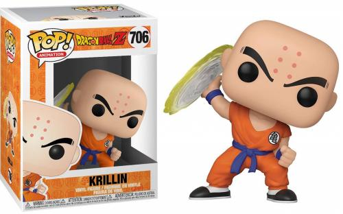DRAGON BALL Z - Bobble Head POP N° 384 - Krillin with Destructo Disc