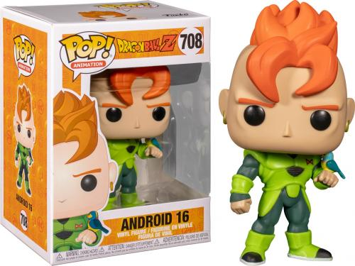 DRAGON BALL Z - Bobble Head POP N° 708 - Android 16