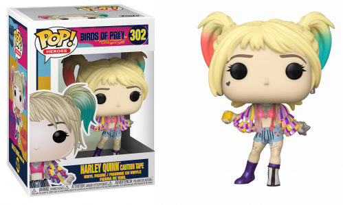 BIRDS OF PREY - Bobble Head POP N° 302 - Harley Quinn Caution Tape