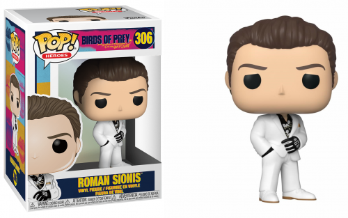 BIRDS OF PREY - Bobble Head POP N° 306 - Roman Sionis White Suit