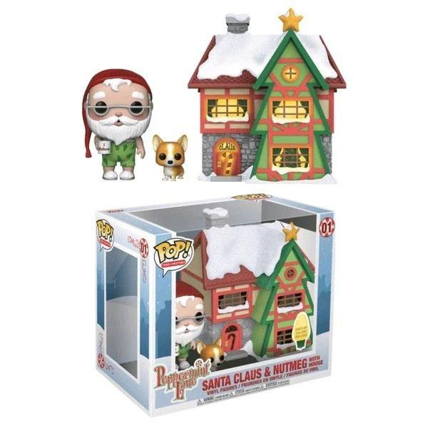HOLIDAY - Bobble Head POP TOWN N° 01 - Santa's House