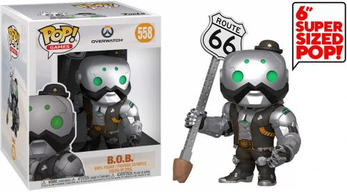 OVERWATCH - Bobble Head POP N° 558 - B.O.B. - 15cm - OVERSIZE