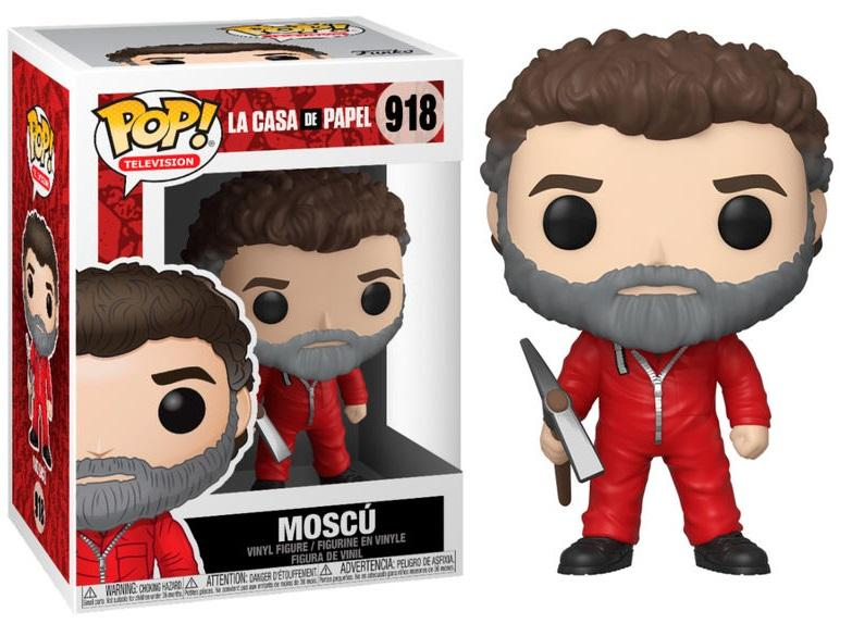 TV - Bobble Head POP N° xxx - La Casa de Papel - Moscow