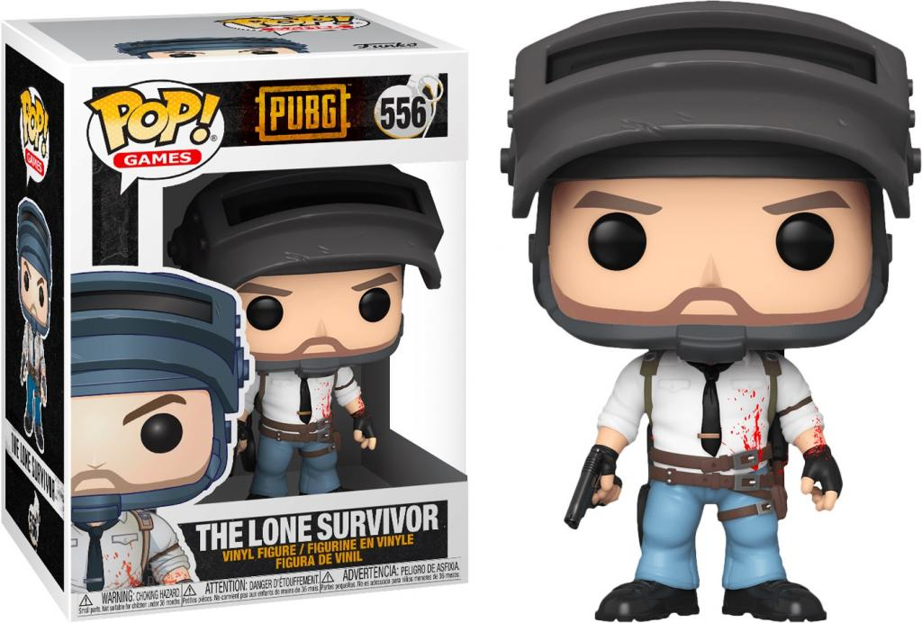 GAMES - Bobble Head POP N° xxx - PUBG - The Lone Survivor