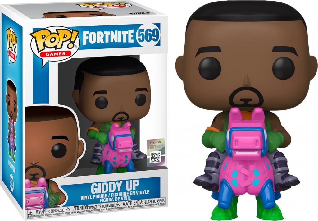 FORTNITE - Bobble Head POP N° 569 - Giddy Up_1