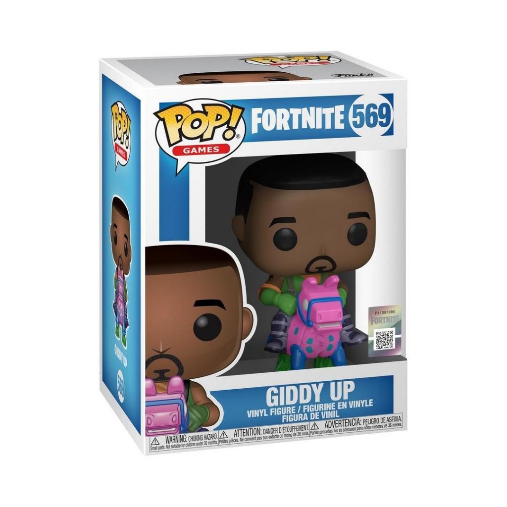 FORTNITE - Bobble Head POP N° 569 - Giddy Up_2