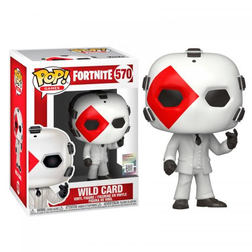 FORTNITE - Bobble Head POP N° 570 - Wild Card (Diamond)