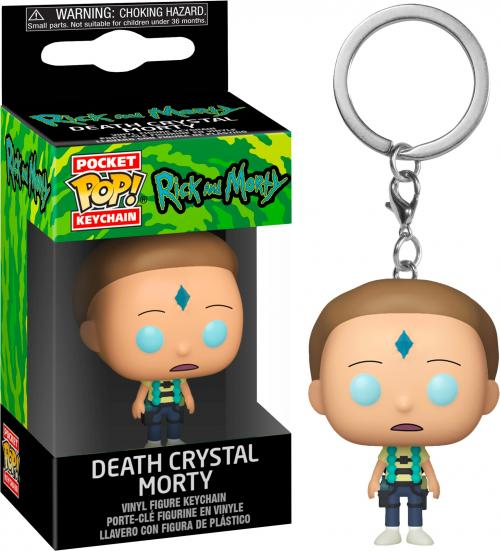 RICK & MORTY - Pocket Pop Keychains - Armed Morty - 4cm