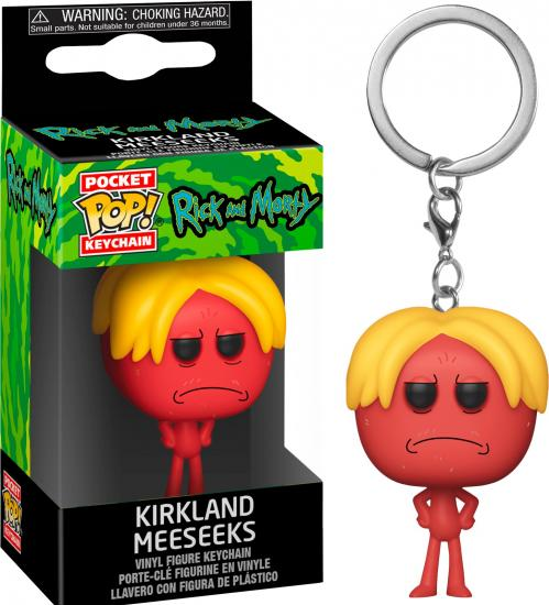 RICK & MORTY - Pocket Pop Keychains - Kirkland Meeseeks - 4cm
