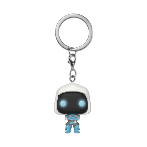 FORTNITE - Pocket Pop Keychains - Frozen Raven - 4cm