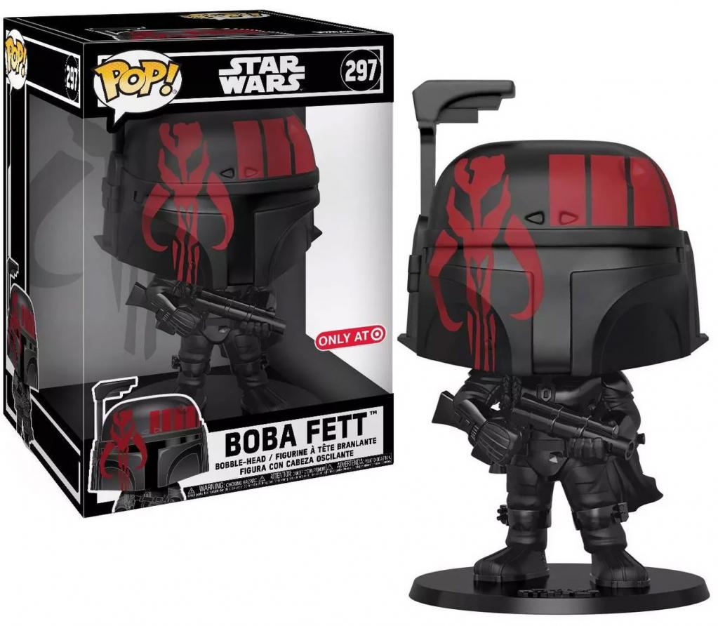 STAR WARS - Bobble Head POP N° 297 - Boba Fett OVERSIZED 10 inch