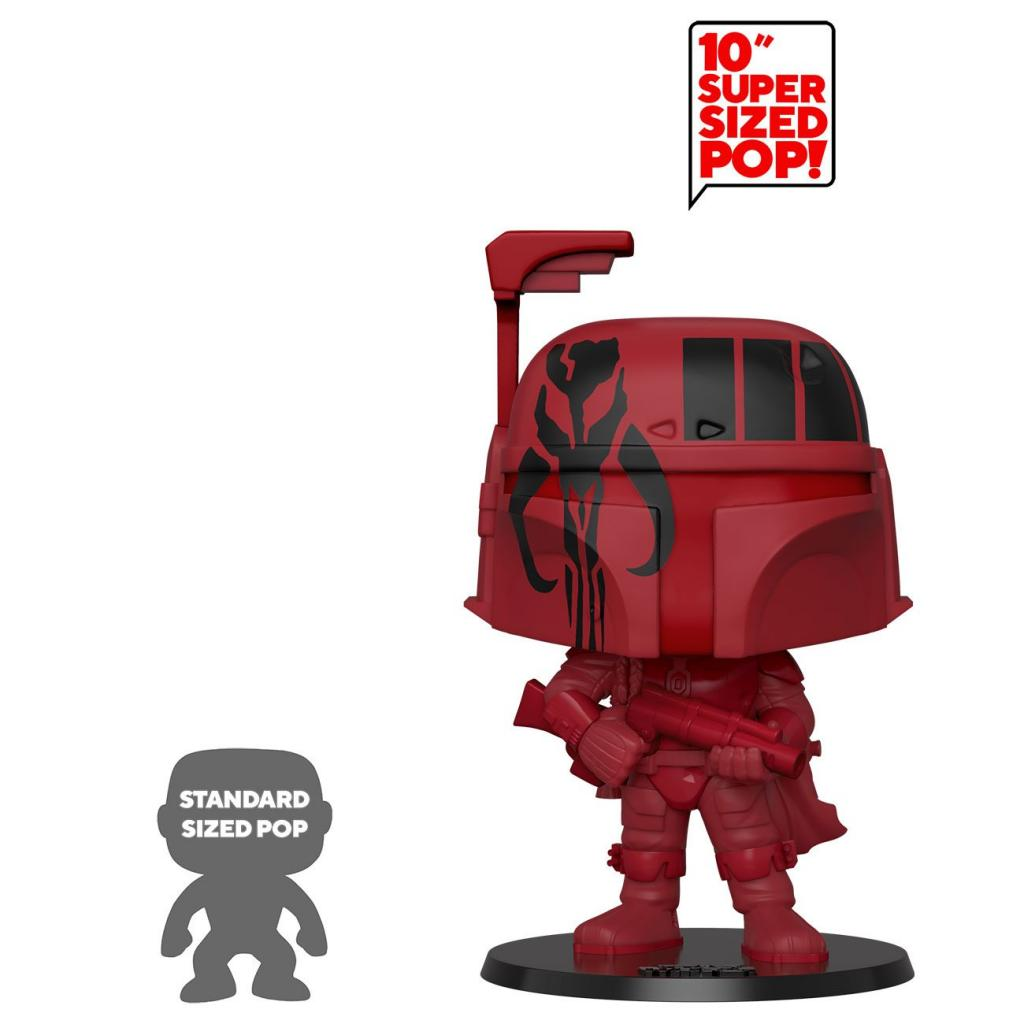 STAR WARS - Bobble Head POP N° 297 - Boba Fett (red) OVERSIZED 10 inch