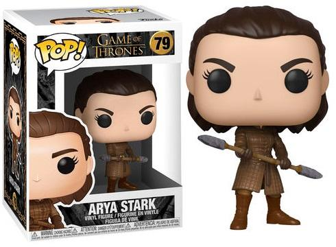 GAME OF THRONES - Bobble Head POP N° 79 - Aria with Two Headed Spear
