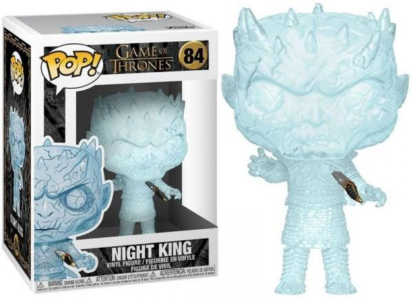 GAME OF THRONES - Bobble Head POP N° 84 - Night King with Dagger