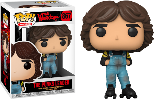 WARRIORS - Bobble Head POP N° 867 - Rollerskate Gang Leader - 9cm