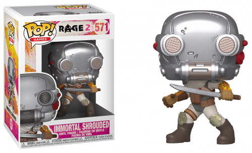 RAGE 2 - Bobble Head POP N° 571 - Immortal Shrouded