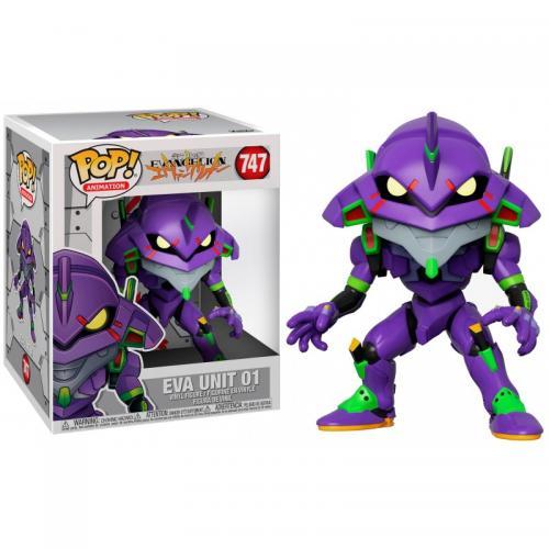 EVANGELION - Bobble Head POP N° 747 - Eva Unit 01 - 15cm - OVERSIZE