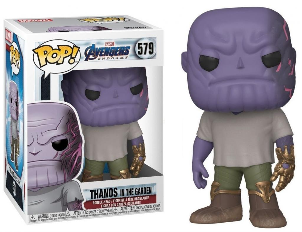 MARVEL - Bobble Head POP N° xxx - Endgame - Thanos w/ Gauntlet