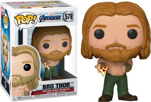 MARVEL - Bobble Head POP N° 578 - Endgame - Thor w/ Pizza