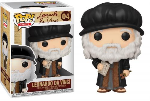 ARTISTS - Bobble Head POP N° 04 - Leonardo da Vinci