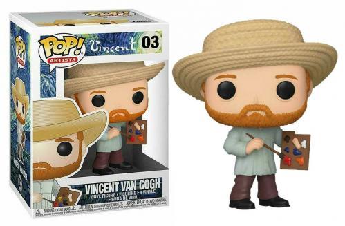 ARTISTS - Bobble Head POP N° 03 - Vincent van Gogh