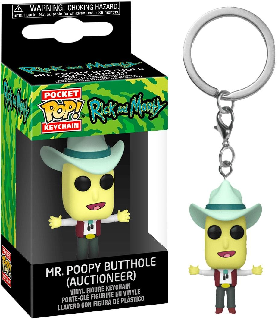 RICK & MORTY - Pocket Pop Keychains - Mr. Poopybutthole - 4cm_1