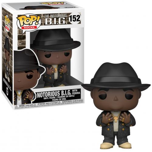 ROCKS - Bobble Head POP N° 152 - Biggie - Notorious B.I.G
