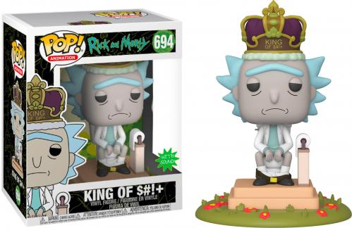 RICK & MORTY - Pop Deluxe N° 694 - King of $#!+ w/Sound