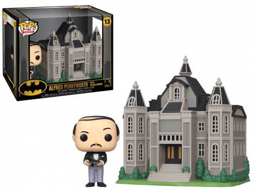 DC COMICS - Pop Town N° 13 - Wayne Manor & Alfred