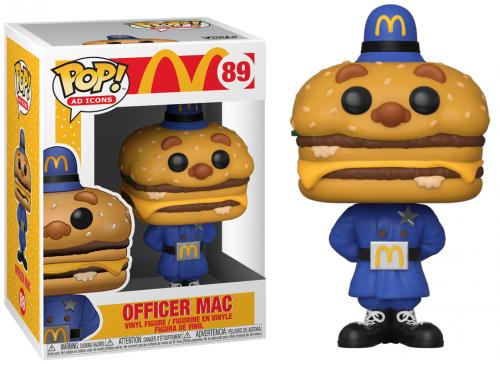 MCDONALDS - Bobble Head POP N° 89 - Officer Mac