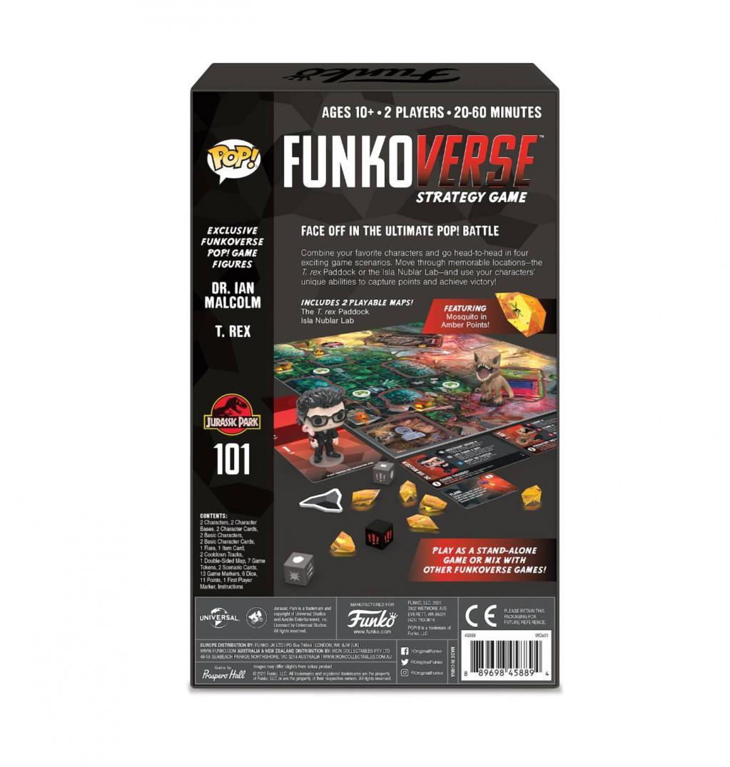 JURASSIC PARK - Funkoverse 101 - Expandalone 'UK'_2
