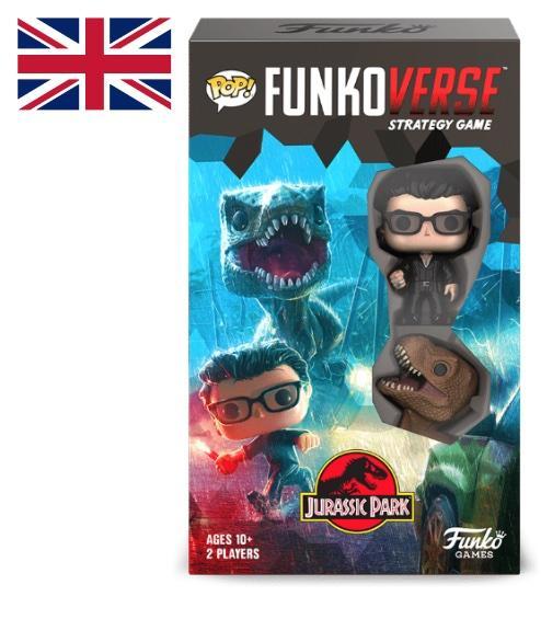 JURASSIC PARK - Funkoverse 101 - Expandalone 'UK'