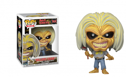 IRON MAIDEN - Bobble Head POP N° 144 - Killers (Skeleton Eddie)