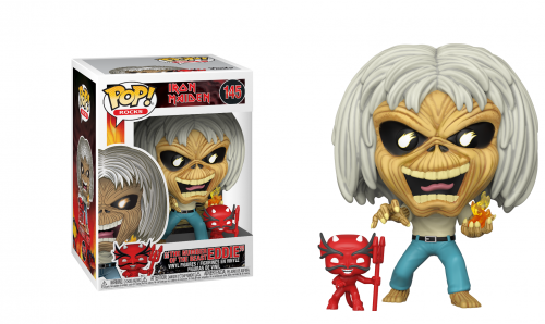 IRON MAIDEN - Bobble Head POP N° 145 - Number of the Beast (Sk. Eddie)