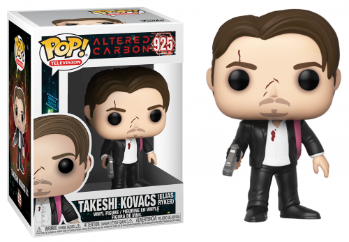 ALTERED CARBON - Bobble Head POP N° 925 - Takeshi Kovacs Elias Ryker