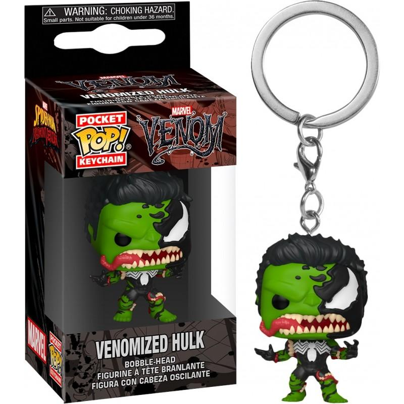 MARVEL VENOM - Pocket Pop Keychains - Hulk - 4cm_1