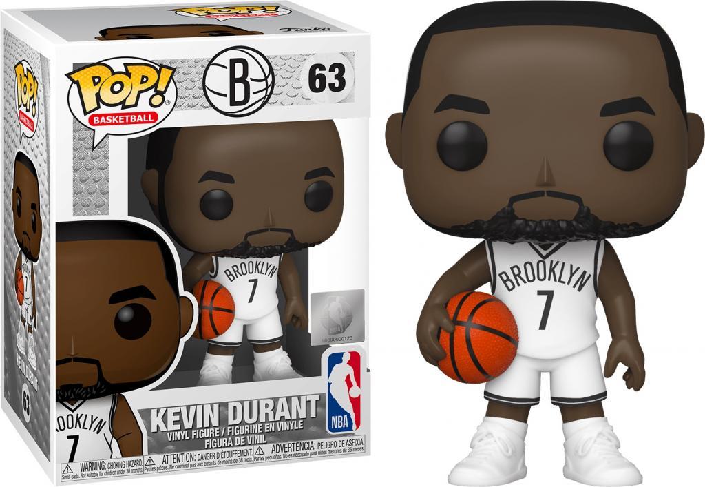 NBA - Brooklyn Nets - Bobble Head POP N° 63 - Kevin Durant