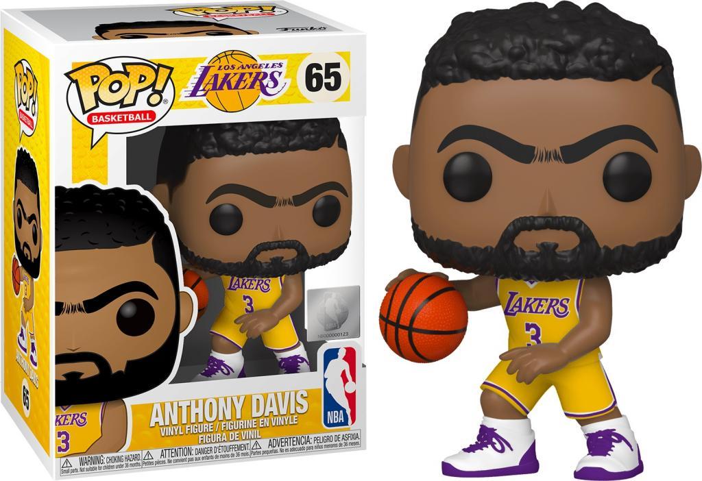 NBA - Los Angeles Lakers - Bobble Head POP N° 65 - Anthony Davis