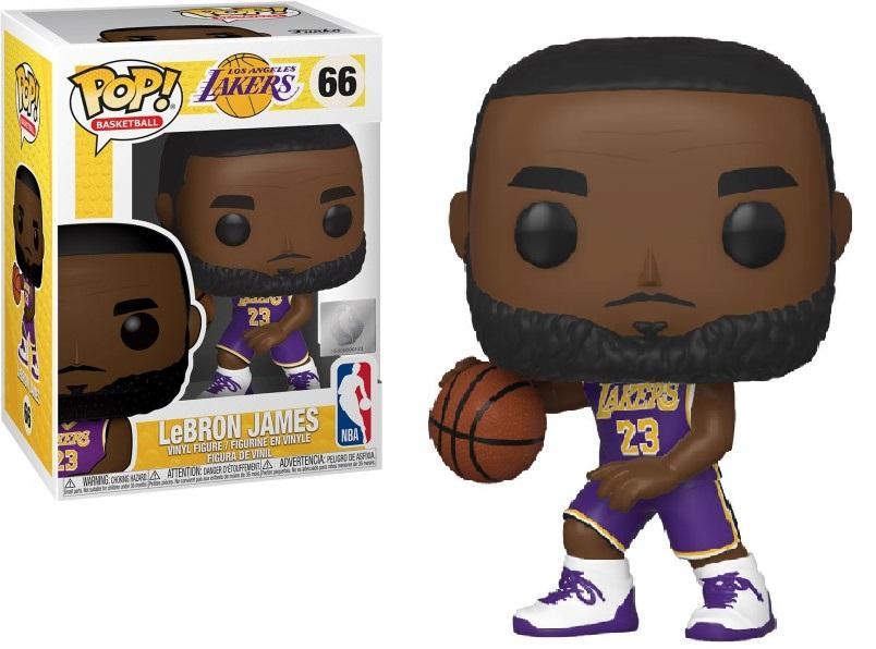 NBA - Los Angeles Lakers - Bobble Head POP N° 66 - Lebron James
