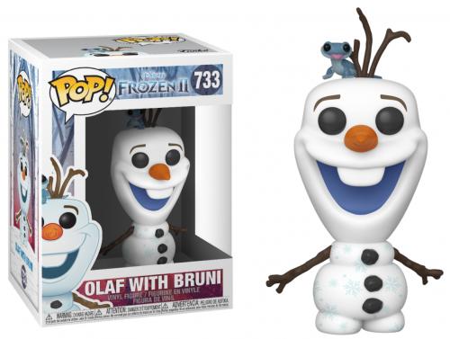 FROZEN 2 - Bobble Head POP N° 733 - Olaf with Bruni