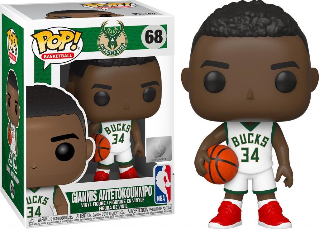 NBA - Milwaukee Bucks - Bobble Head POP N° 68 - Giannis Antetokounmpo