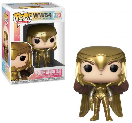 WW84 - Bobble Head POP N° 323 - Wonder Woman Golden Armor