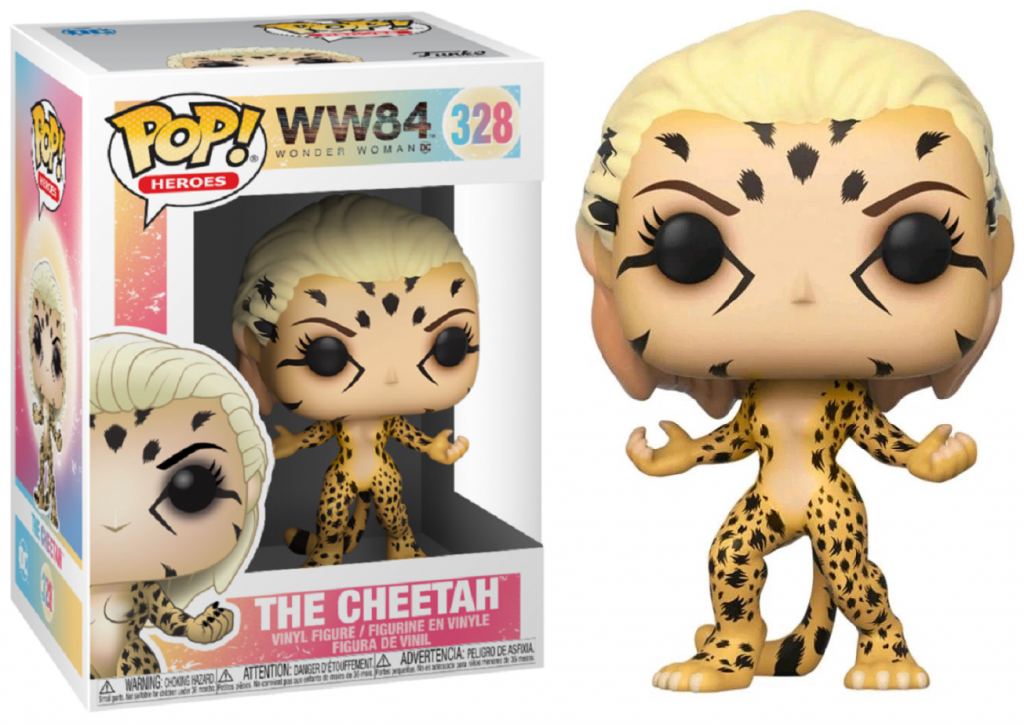 WW84 - Bobble Head POP N° 328 - The Cheetah_1